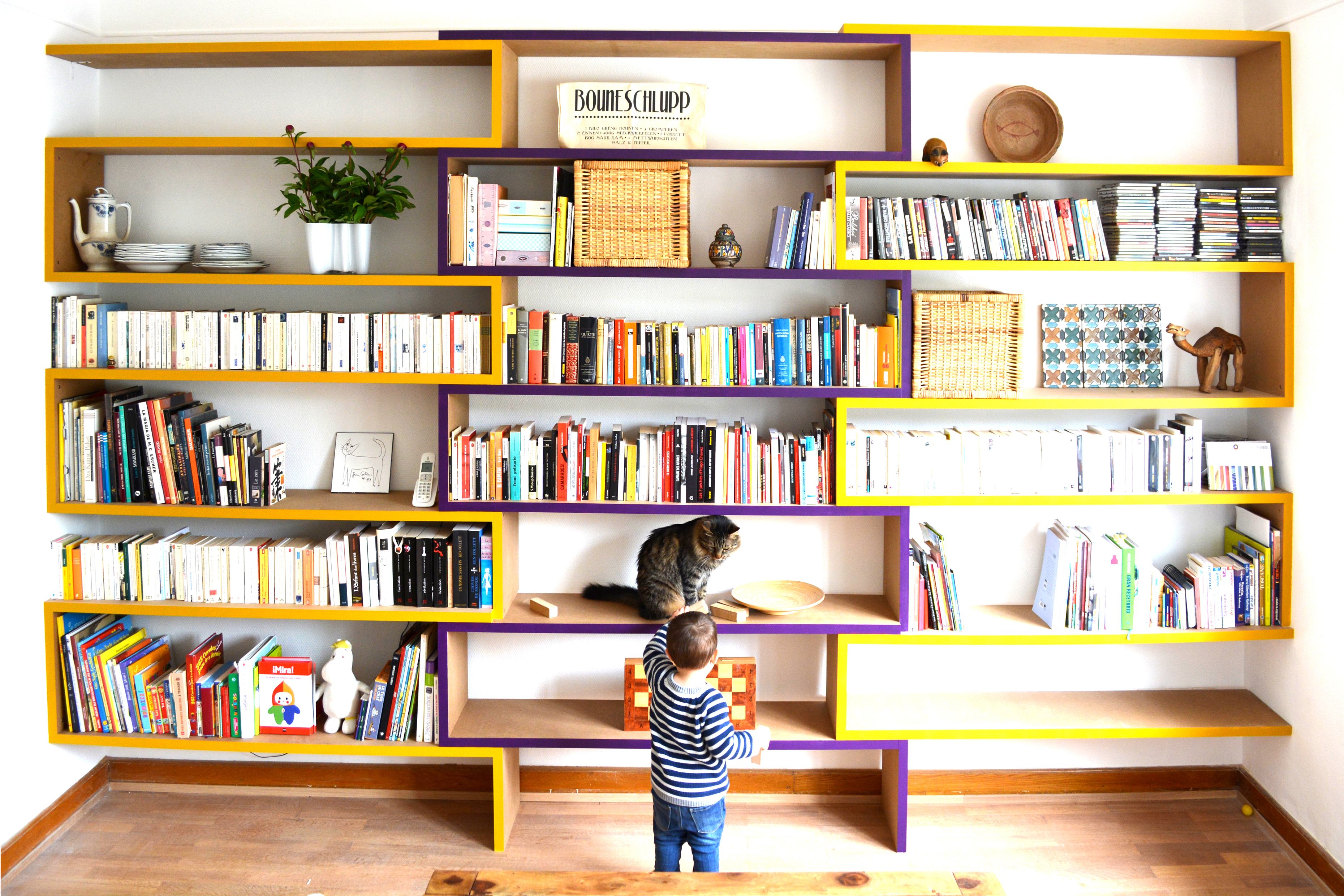 Luxembourg bookcase guerrero architecte s rl luxembourg for Concours ministere interieur