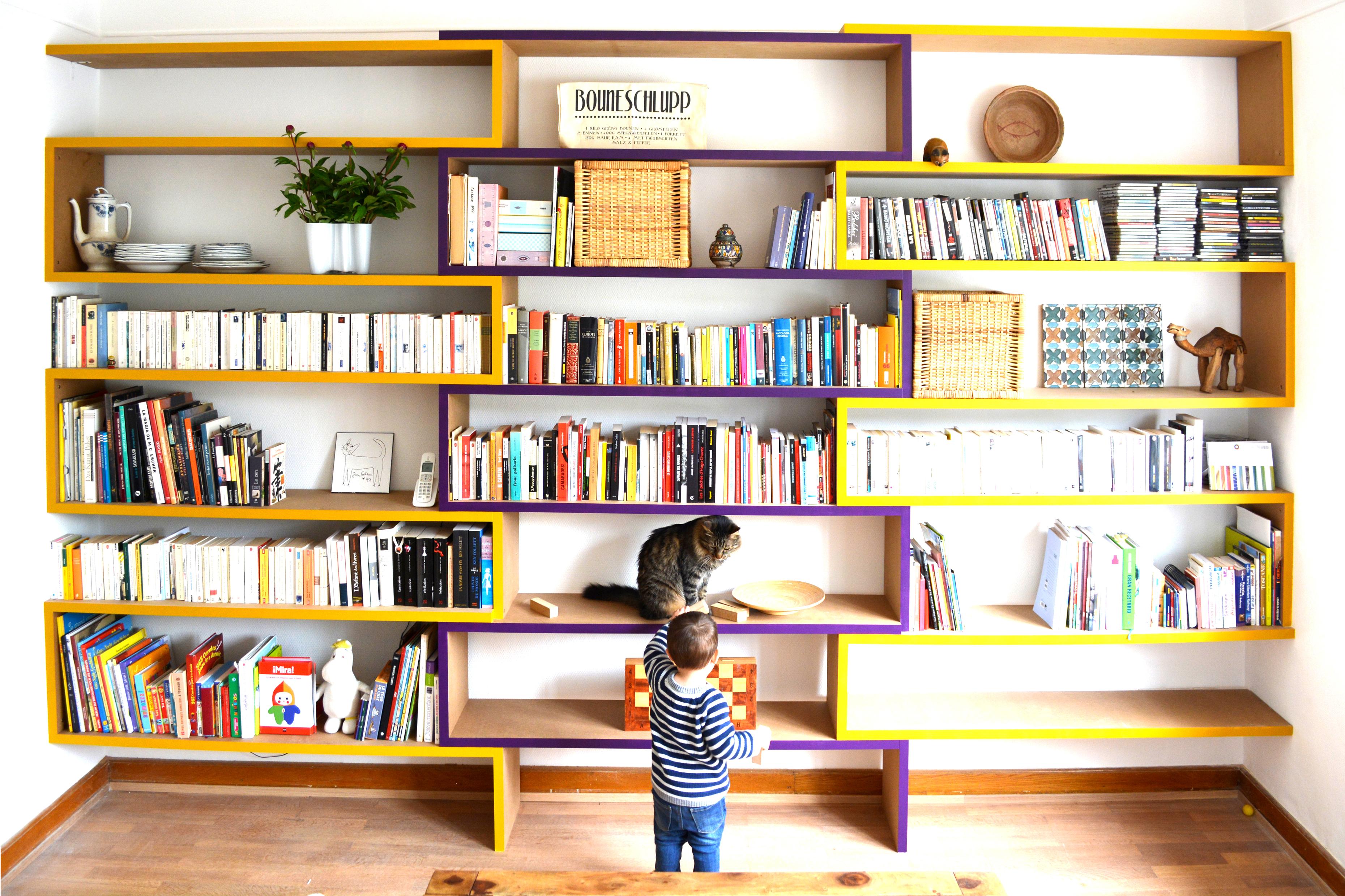 Luxembourg bookcase guerrero architecte s rl luxembourg for Architecte interieur geneve